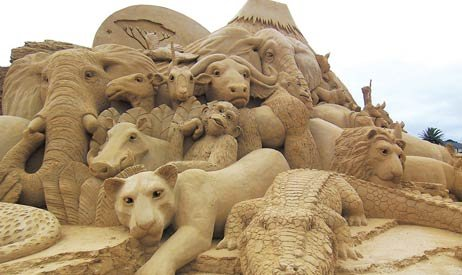 Sand Sculpting 462x275